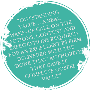 """Outstanding value, a real wake-up call..."""